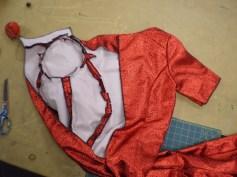 Chorus Girl's dress before lining