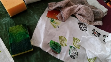 testing leaf stamp
