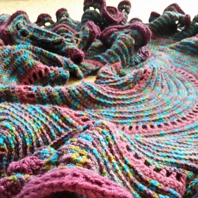 crochet as a landscape
