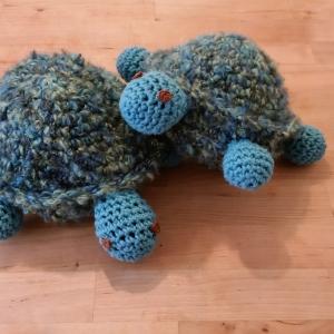 crocheted turtles